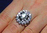 Кольцо серебро 925 проба 18.5 размер АРТ1146, фото 1