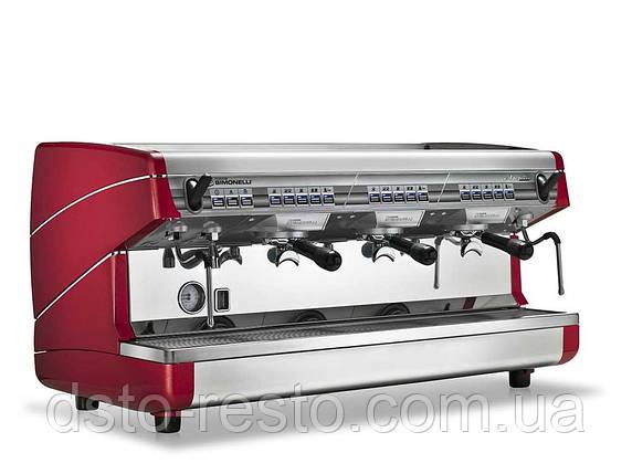 Кофеварка автоматическая трехпостовая Nuova Simonelli Appia 3GR V, фото 2