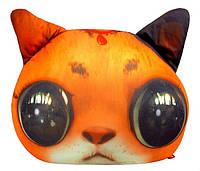 """Антистрессовая игрушка мягконабивная """"Кот глазастик"""" рыжий """"SOFT TOYS """", DT-ST-01-01"""