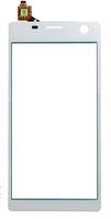 Сенсор (тачскрин) для Sony E5333 Xperia C4 Dual/E5343/E5363 белый