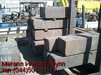 Поковка сталь Х12МФ размером 134х147х160 мм