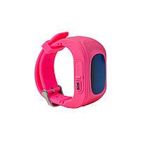 Часы детские с датчиком GPS розовые Q50
