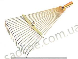 Грабли веерные раздвижные(анодированные)