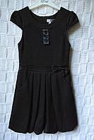 Шикарное школьное платье Бантик