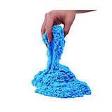 Цветной Кинетический песок пластилин Royal Play Sand с пасочками 400гр. оранжевый, фото 6