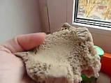 Цветной Кинетический песок пластилин Royal Play Sand с пасочками 400гр. оранжевый, фото 7