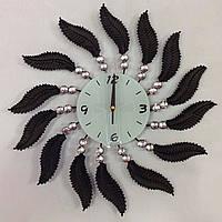 Часы настенные из металла 40см