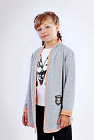 Модный детский  кардиган меланж