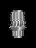 Титановое основание для одиночных конструкций винтовой фиксации (аналог CAD/CAM 3 shape) с винтом 3,3 мм