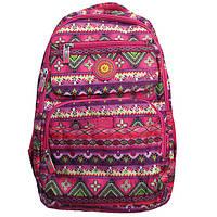 """Школьный рюкзак для девочек """"Орнаменты"""". Хорошее качество. Практичный рюкзак. Купить онлайн. Код: КДН2042"""