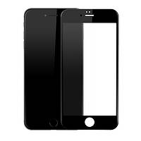 Защитное стекло на iPhone 6/6s Rinco,2.5D Full Screen Black (0,33 мм) черное. Защитное стекло на айфон 6/6s