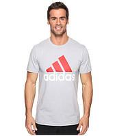 Оригинальная футболка Adidas Badge of Sport Classic Tee, светло-серая