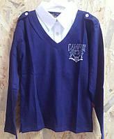 "Рубашка обманка  Deloras ""Campus"" на мальчика, р. 140-164, синяя"