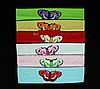 """Повязки цветные стрейчевые """"бабочка"""""""