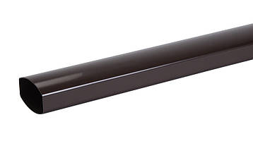 Труба водосточная 4 м, 90/56, коричневая