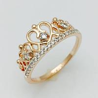 Кольцо в виде короны, размер 20