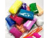 Тесто для лепки с инструментами, мягкий пластилин 12 цветов, фото 2