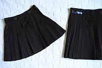 Оригинальная школьная юбка - плиссе