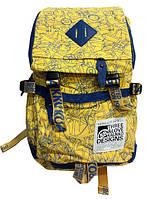 Оригинальный школьный рюкзак для девочек и мальчиков Kaukko. Отличное качество. Удобный рюкзак. Код: КДН2044