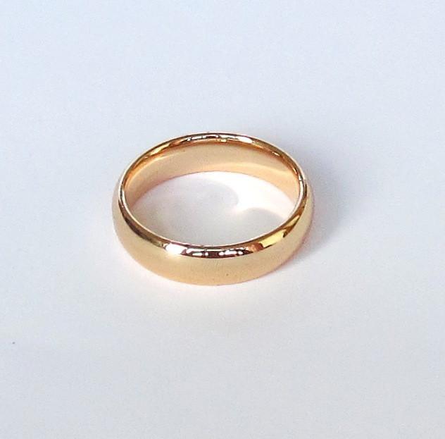 Кольцо обручальное, 033, ювелирный сплав