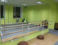 Хореографический (балетный) станок однорядный и двухрядный, напольный и настенный