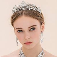 Красивая тиара на свадьбу для девушки