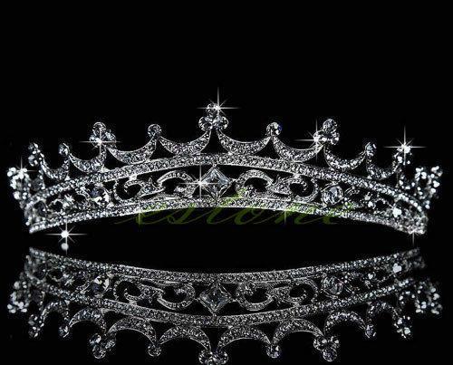 Свадебная Корона для невесты с кристаллами