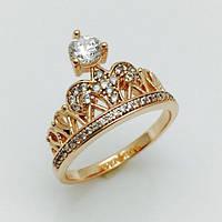 Женское кольцо корона империи, размер 17, 18, 19, 20