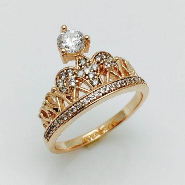 Женское кольцо корона империи, размер 19, 20