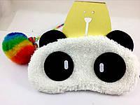 Мягкая маска для сна Панда