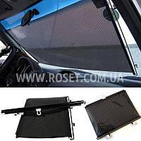Автомобильная солнцезащитная шторка-ролет на присосках - Sun Shield 68х125 см