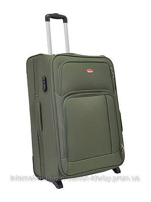 Чемодан Suitcase большой 11404-28 хаки