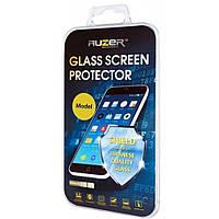 Защитное стекло AUZER Samsung A3 (2017) Full Cover black