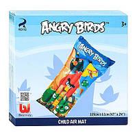 Матрац 96104 Angry Birds. Рассчитан на возраст от 3-х лет. Длина - 119 см, ширина - 61 см. NK