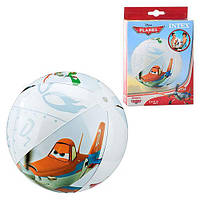 Мяч 58058 мяч пляжный надувной, для детей от 3 лет  Диаметр – 61 см. ZX