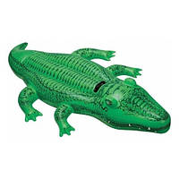 Плотик 58546 (12шт) крокодил 168-86 см DC