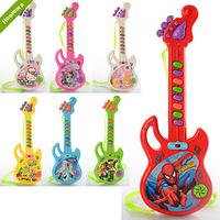 Гитара 3939-29  (240шт) FR, 29см, муз, 7 видов(FR,DPS,НК,СБ,СП,Б10),на бат-ке,в кульке FFP