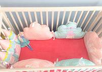 """Защита на кроватку """"маленькая принцесса """"на 4 стороны. , фото 2"""