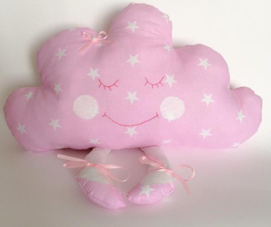 Іграшка-подушка хмаринка. 100% бавовна. Різні кольори.