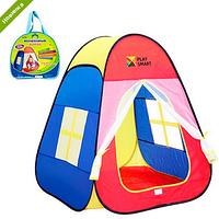Палатка M 1423 пирамида,86-77-74см,1вход-сетка,заст-липуч+завяз,2окна-сетки,в сумке FM