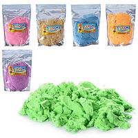 Песок для творчества MK 0468  6 цветов, 1000г, в кульке  20-29-4см FV