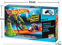 Трек инерц. типа HOT WHEELS 999-23 (48шт/2) Mutant Machines Mutation Lab Track Set, в коробке MZ