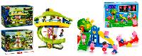 Игровые наборы с фигурками героев мультфильмов
