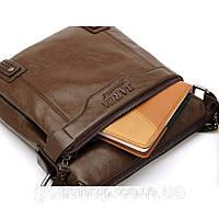 Кожаная сумка BARCA. Высокое качество. Кожаные изделия. Сумки бизнес, офис, повседневный стиль.Код:КС21-1