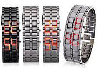 Наручные часы Lava Style Железный самурай LED
