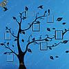 """Наклейка - """"Семейное дерево"""" - на 7 фотографий!"""