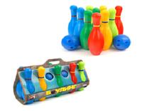 Игра детская кегли 10 штук арт. 1-002 NK