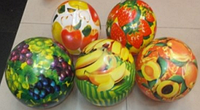 Мяч 9 BT-PB-0027 фрукты и ягоды 5в.60г сетка ш.к. FFX