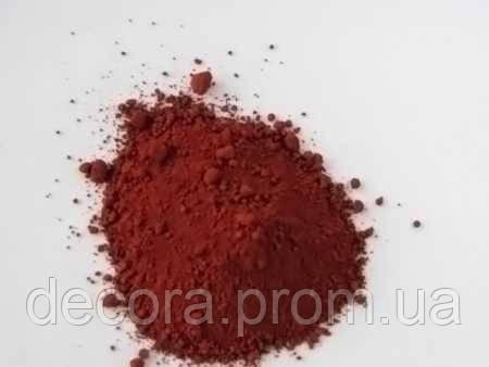 Пигмент красящий железоокисный для гипса и бетона КРАСНО-КОРИЧНЕВЫЙ