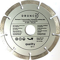 Диск алмазный универсальный Dronco ST-7 125x2.0х22.2, фото 1